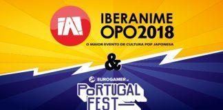 Iberanime e Eurogamer Portugal Fest