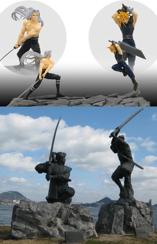 Cloud (Musashi), Sephiroth (Kojiro)