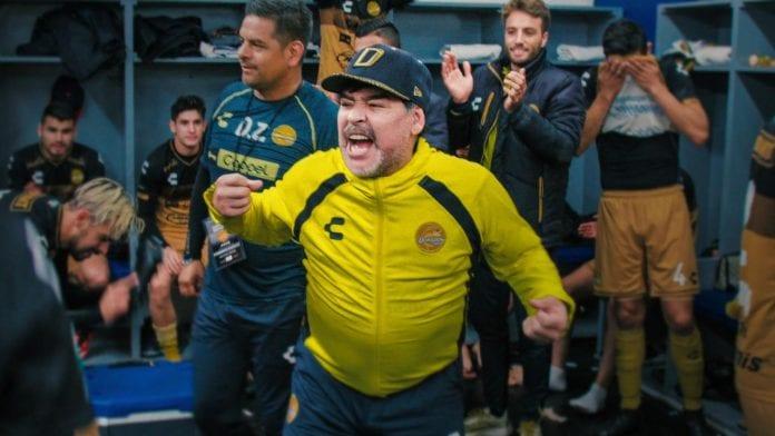 Maradona In Mexico Netflix