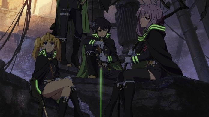 Seraph of The End Netflix Anime
