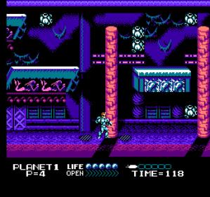 Street Fighter 2010 Capcom NES