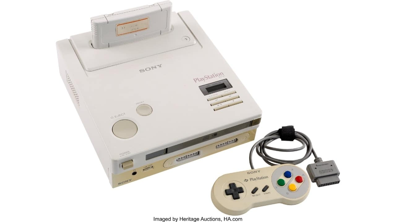 Play Station Super NES CD-ROM
