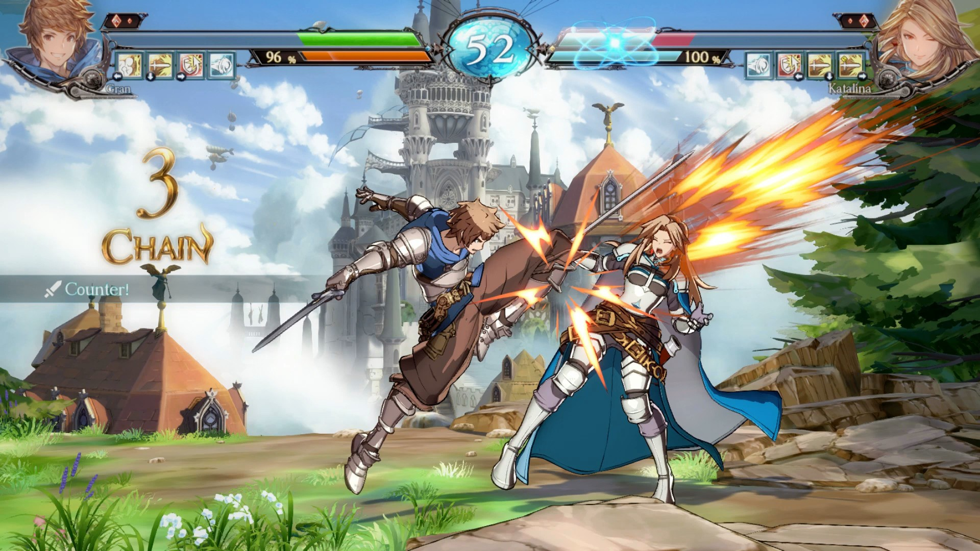 Granblue Fantasy Versus PC Steam PlayStation 4 Arc System Works