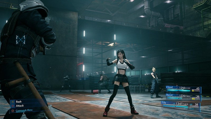 Tifa Lockhart final fantasy vii remake
