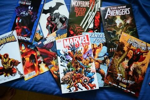 Marvel DC Bandas Desenhadas