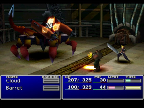 Final Fantasy VII First Boss