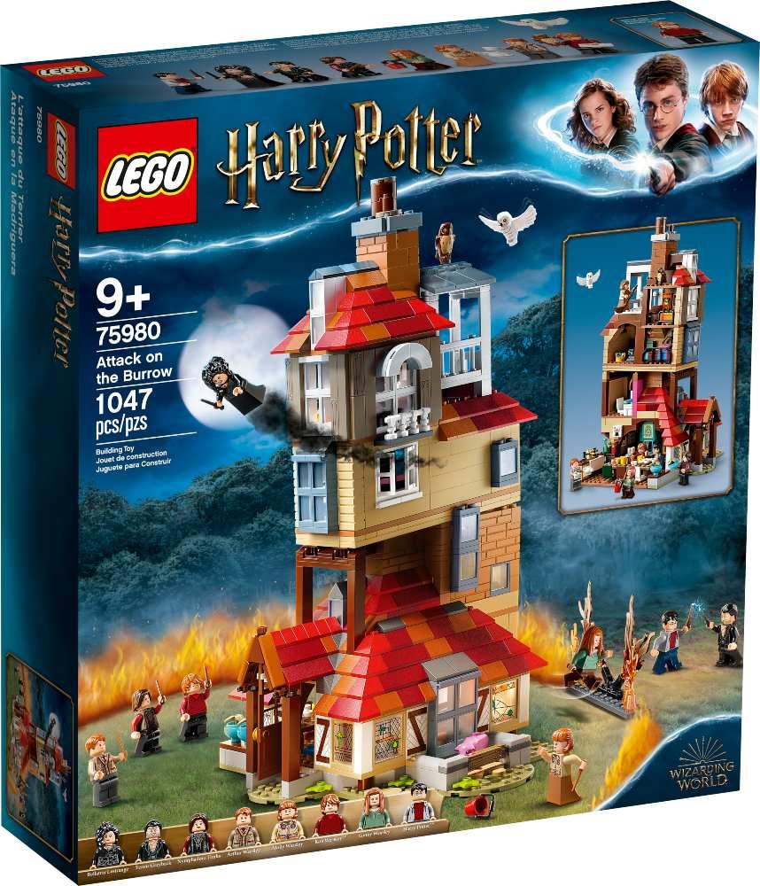 LEGO Harry Potter O Ataque à Toca (75980)