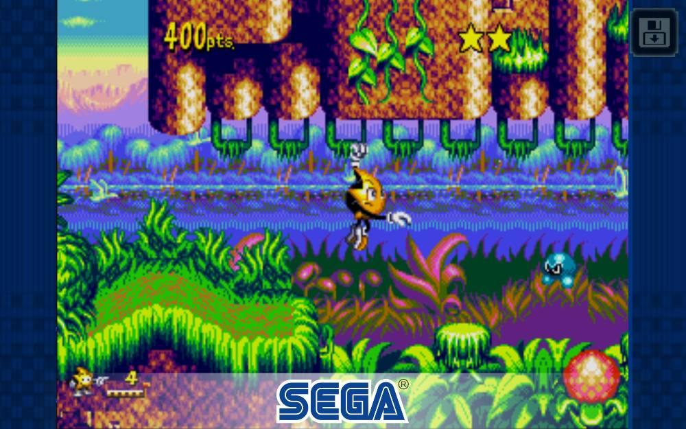 Ristar Sega Mega Drive Sega Game Gear