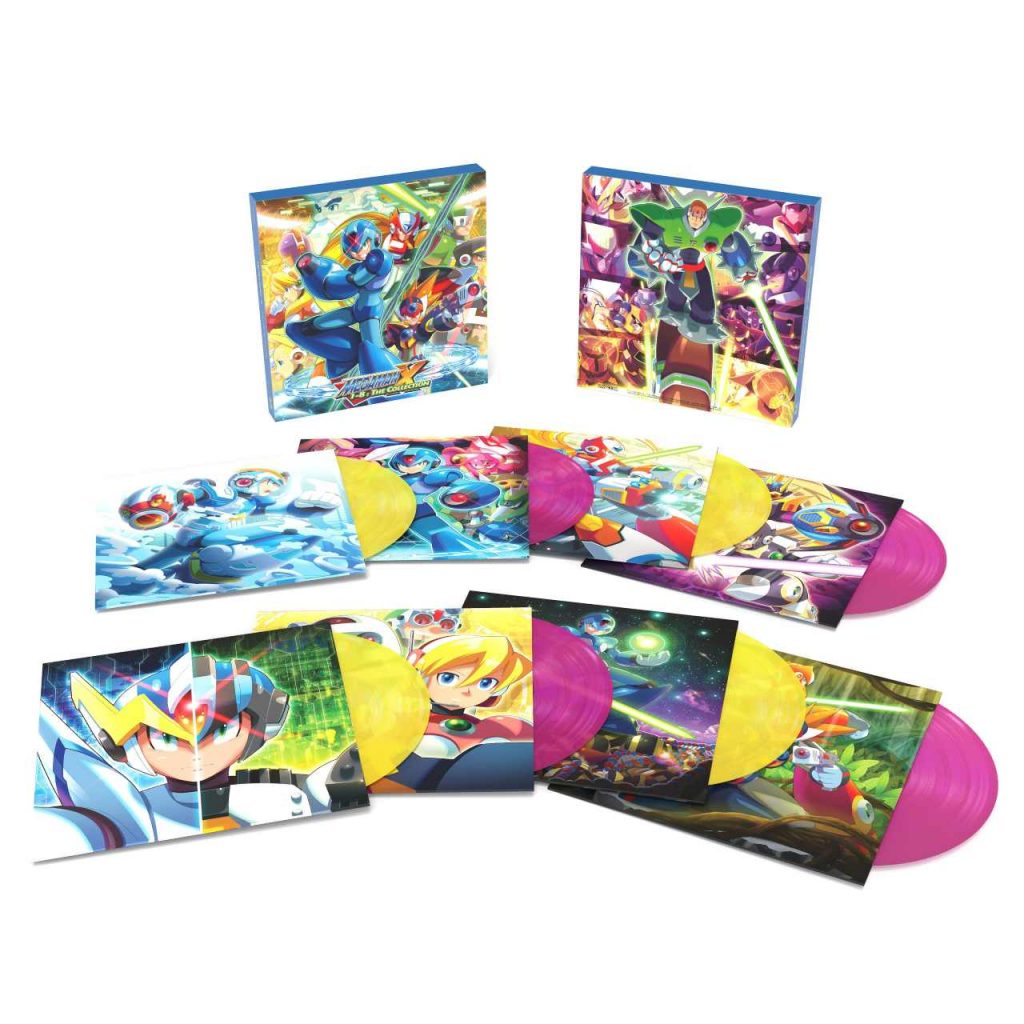 Mega Man X Vinyl capcom Laced Record 2