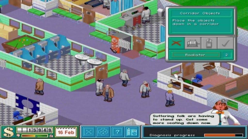 Theme Hospital Odisseia de Um Bit