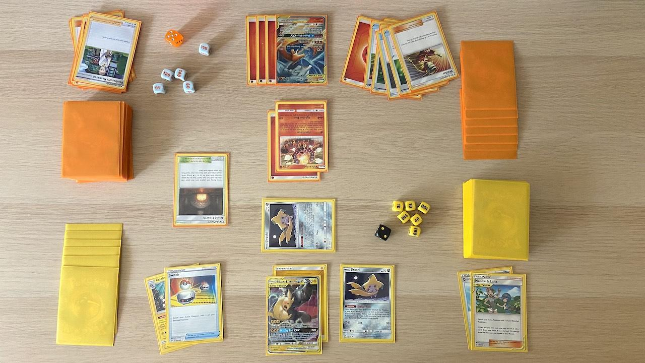 Pokemon League Battle Deck