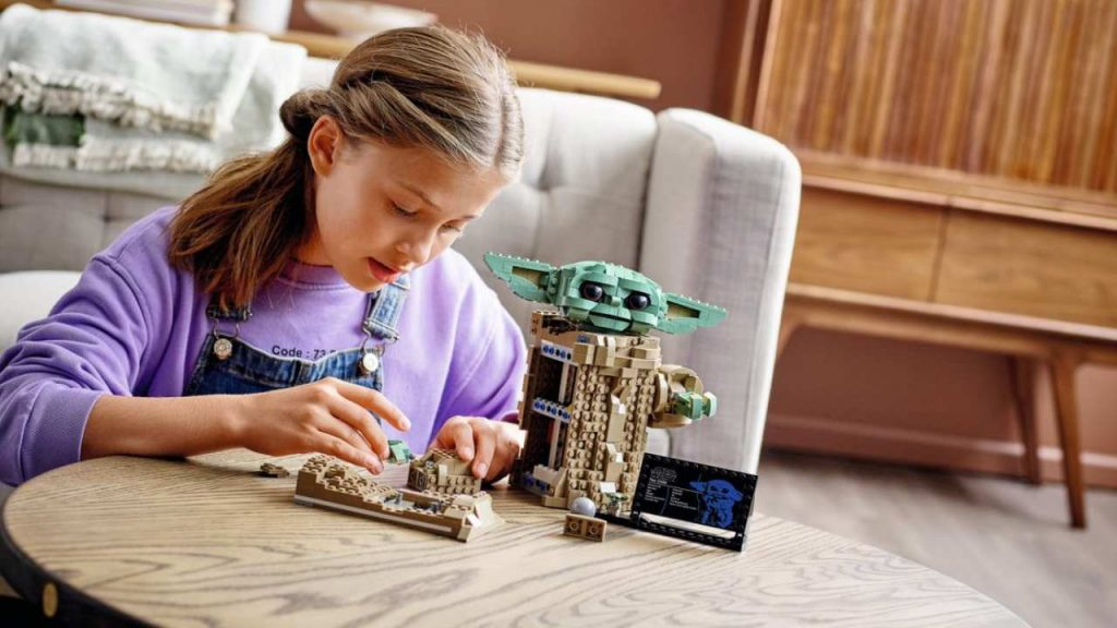 LEGO Star Wars A Criança The Child Baby Yoda