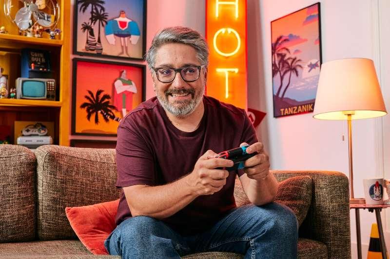 Nuno Markl joga Animal Crossing