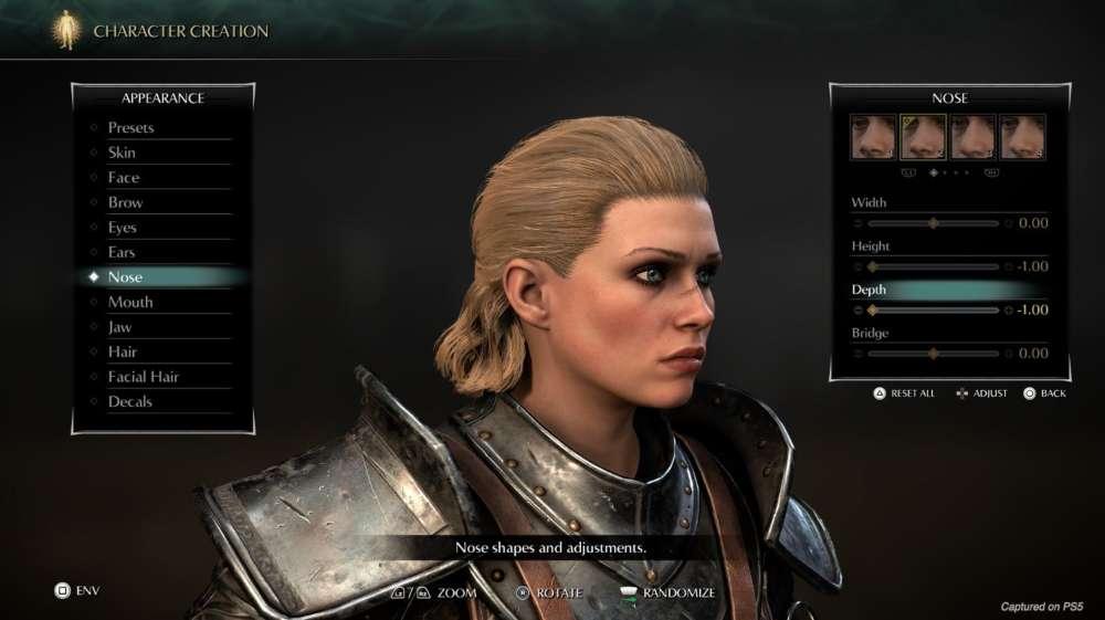 PS_DEMON'S SOULS Criação de Personagens (1)