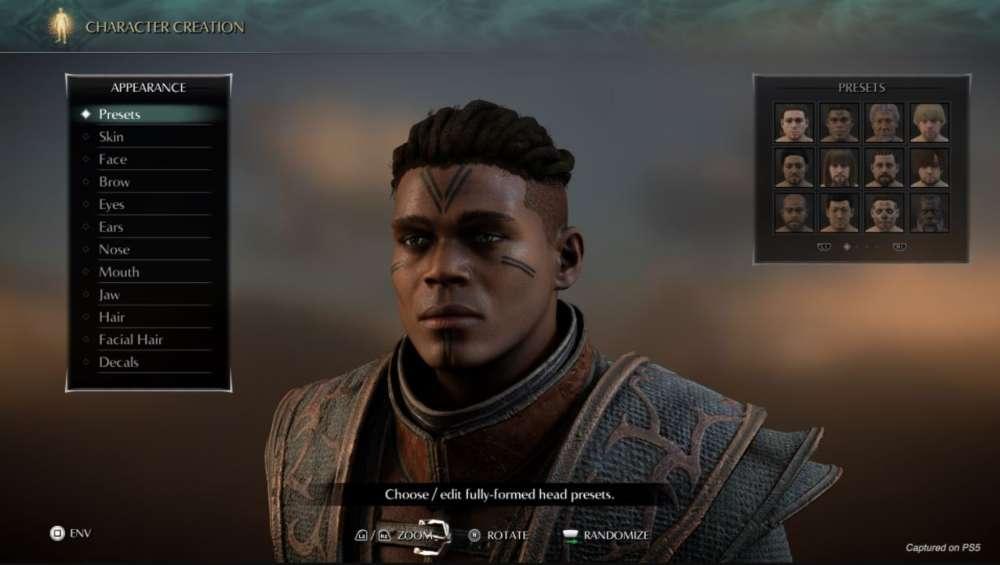 PS_DEMON'S SOULS Criação de Personagens (2)