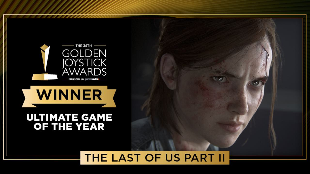 The last of us parte II - the last of us 2 - golden joystick awards