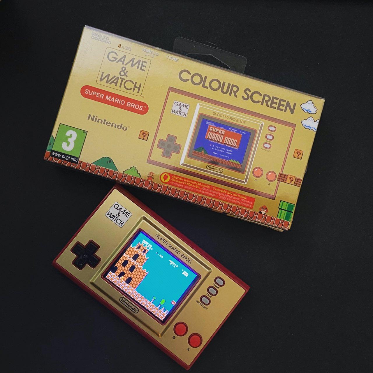 Nintendo Game & Watch Super Mario Bros box