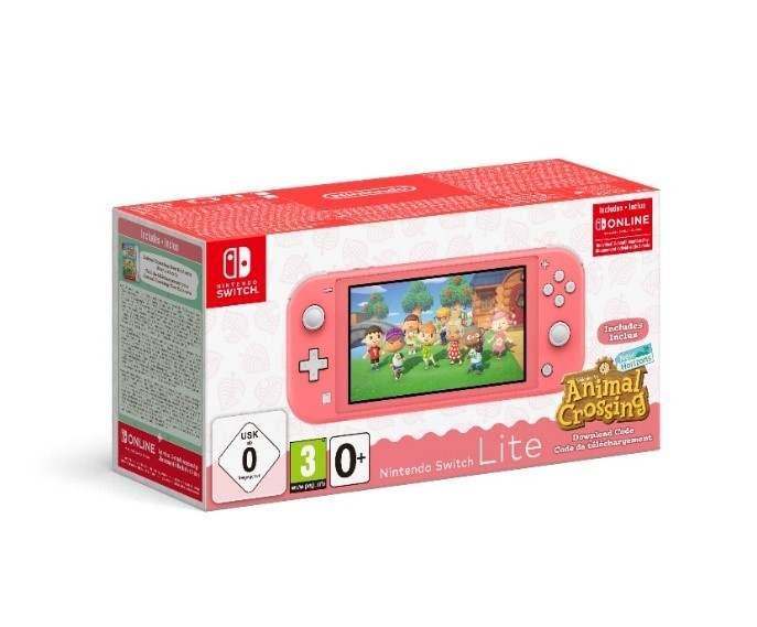 Nintendo Switch Lite Natal Animal Crossing 2