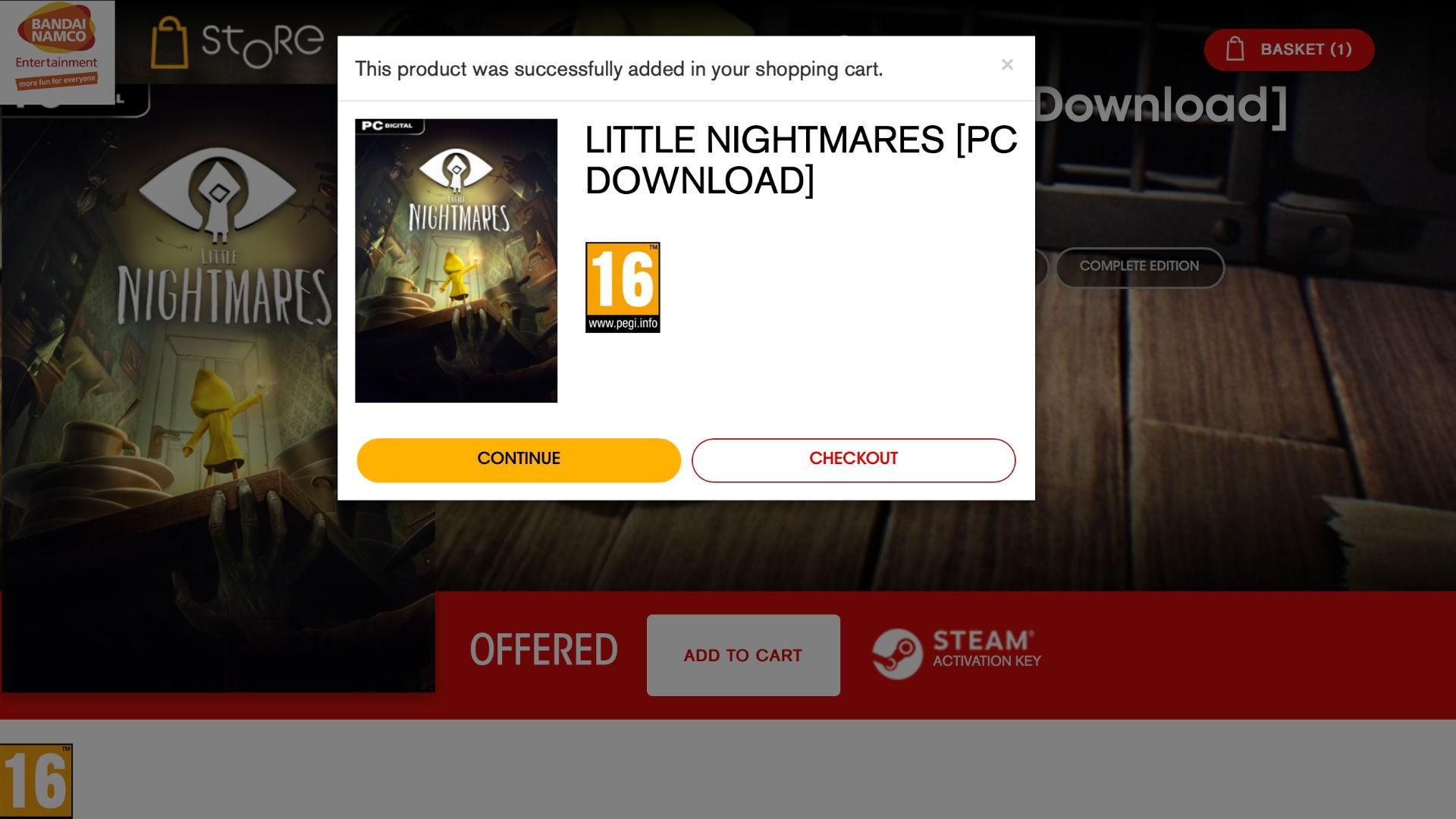 Little nightmares demo t1