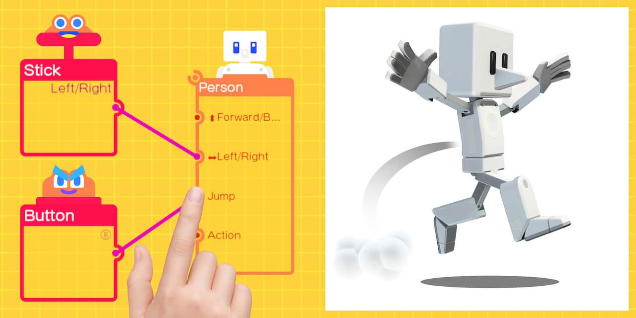 Nintendo Switch | Aprende e cria jogos com o Game Builder Garage! | Squared  Potato