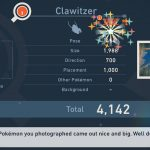 New Pokemon Snap photo grading