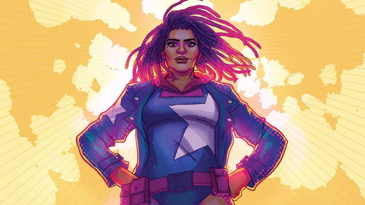 Nichelle Wright Capitão América Marvel