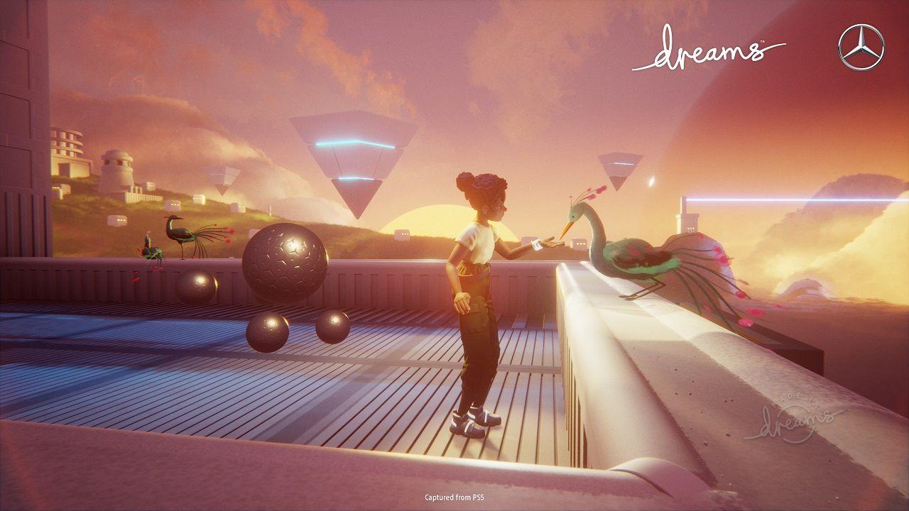 Dreams e Mercedes Game Jam
