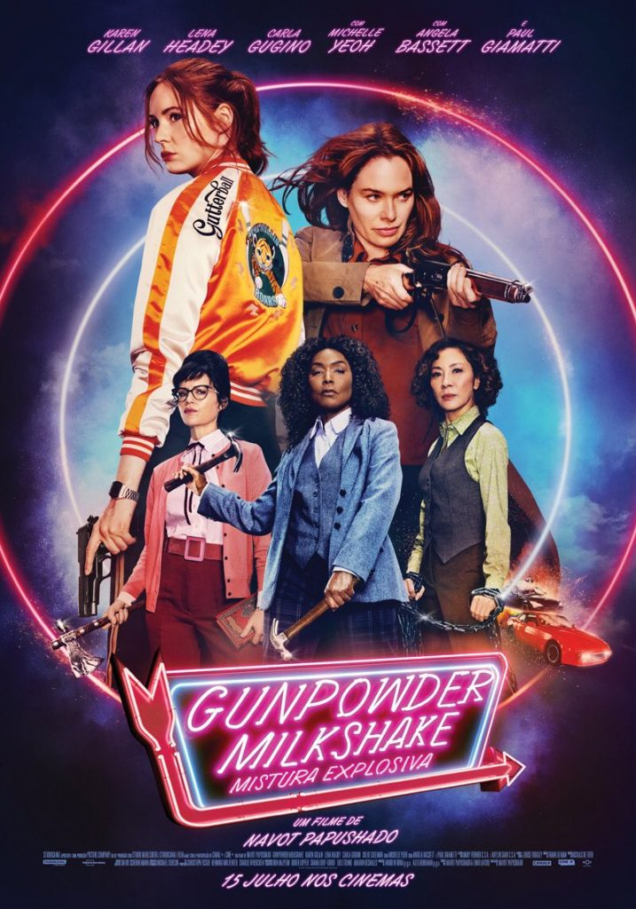 Gunpowder Milkshake: Mistura Explosiva | Filme com Lena Headey e Karen Gillan estreia amanhã